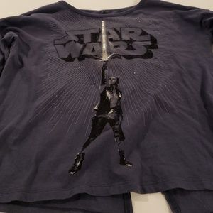 Girls star wars top